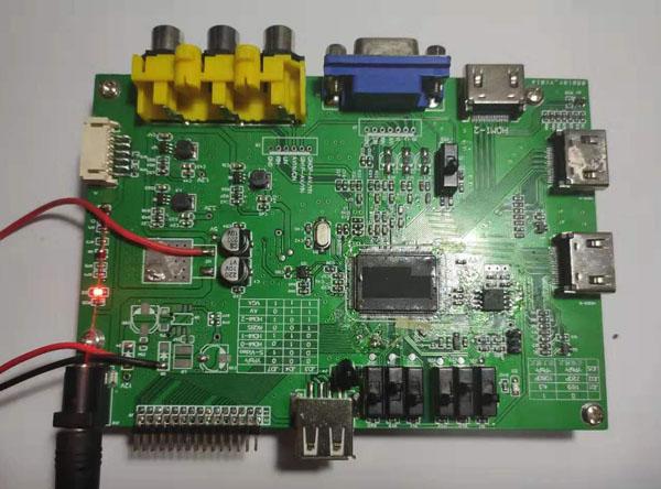 最新设计的TSUMV56RB LVDS液晶屏驱动板