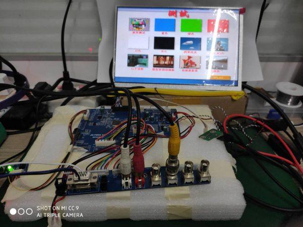 TSUMV56RUU驱动单LVDS 1280x800液晶屏